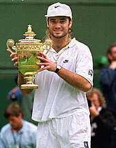 tennis history,Andre Kirk Agassi