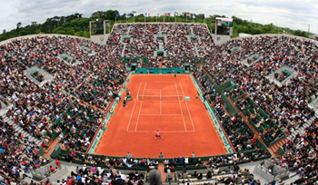 tennis today french open court