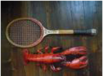 tennis equipment,tennis old racket0002