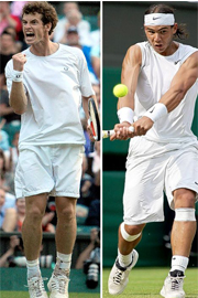 tennis equipment,tennis apparel,nadal&murray0005