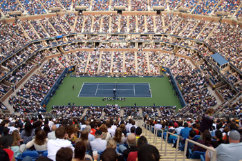 US Open 2010 - court