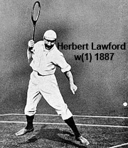 Herbert Lawford, Champion 1887